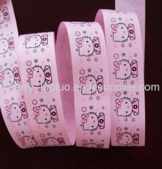 Printed grosgrain ribbon 22mm