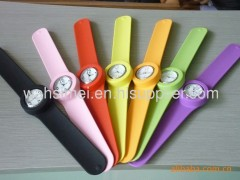 silicone slap watch wholesale
