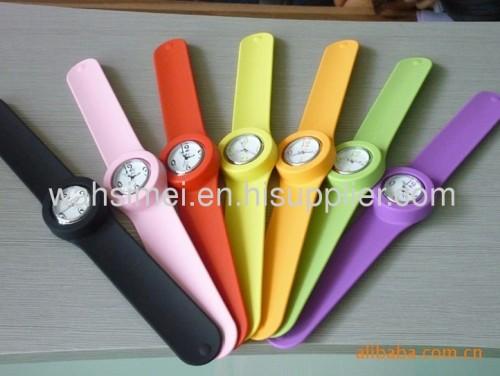 silicone slap watch wholesale