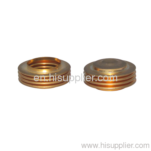 thickness is 0.1-0.3mm , 30x19x4 BRONZE BELLOWS for pressure gauge