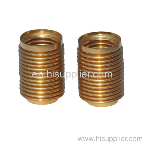 small Bronze bellows used for vaccum machines
