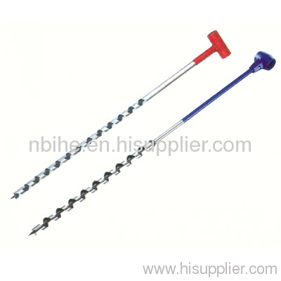 Double Functional Auger Bit For Hand Use From China Manufacturer