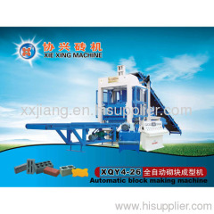XQY4-26 full automatic brick making machine