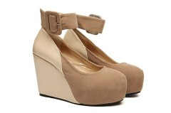 Wedge heel fashion shoes for women