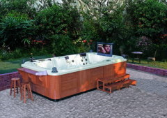 Customized outdoor + spas