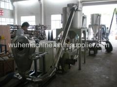 PVC granulating line
