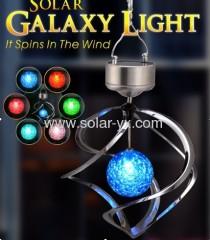 solar wind spin solar lamp