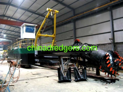 High quality China hydraulic cutter suction dredge