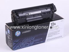 HP 12A Original Laser Toner Cartridge