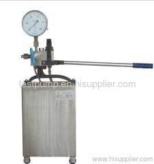 hand test pump