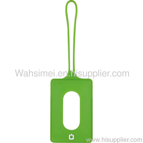 Hot silicone Baggage tag