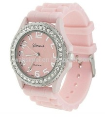 fashion silicone watches hot sell