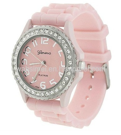High quality silicone watch made in china with fashion designs