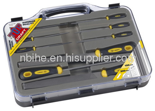 TOP CRAFT 9pcssuperiorquality Multi porpose steel file set