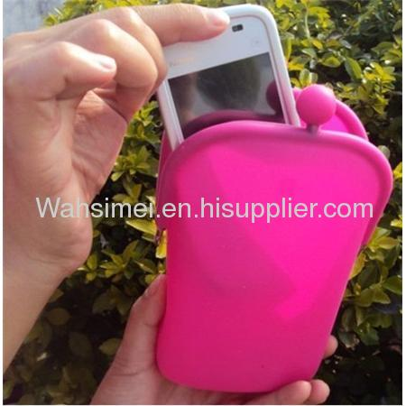 2012 new innovative stylish silicone purse