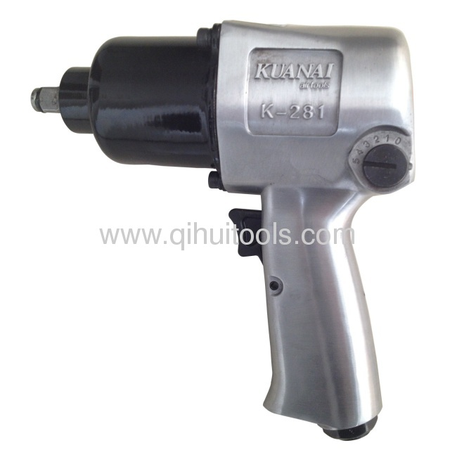 Twin Hammer Mechanism 1/2 Inch Professional Air Impact Wrench