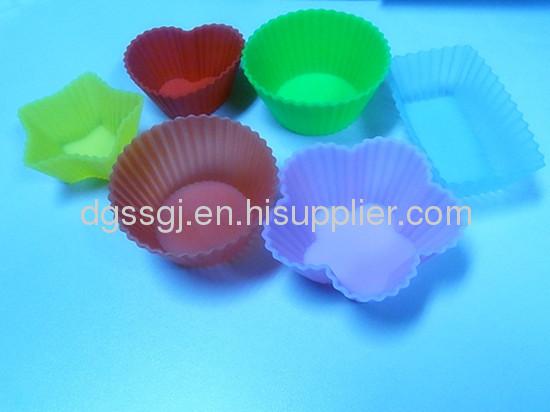 Silicone mini cupcake molds