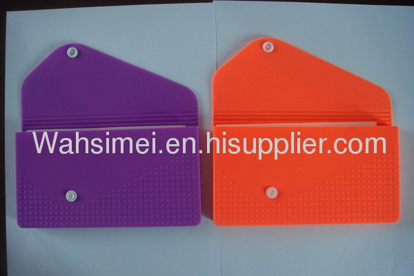 2013 new design silicone wallet for ladies