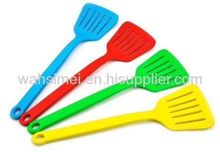 Various types silicone kitchen cooking shovels