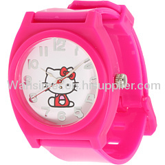 2012 fashion silicone watches promotional gift for men