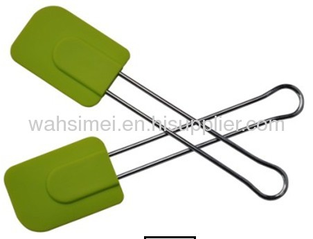 Silicon kitchen scrapers shovels