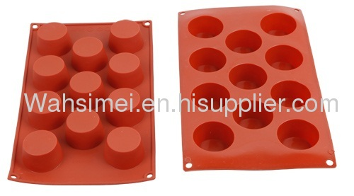 Cute design of silicone cake mould cookie cup