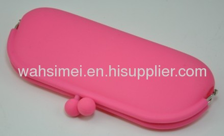 Silicone Pouches handbag for lady
