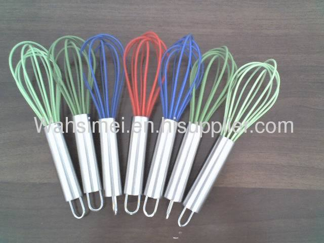 Silicone whisk for cooking