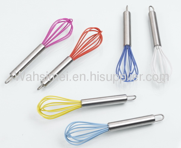 New arrival silicone whisk for egg beater