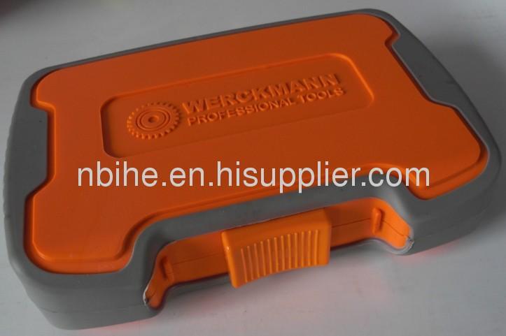 64Pc screwdriver bit set with soft plastic mold case