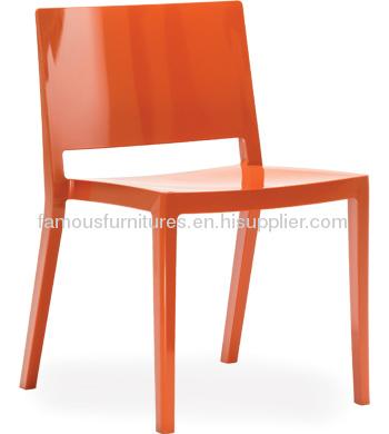 Modern Navy PP Lizz Dining side Chair outdoor garden desk furniture chairs