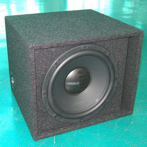 Carpet single car speaker cabient