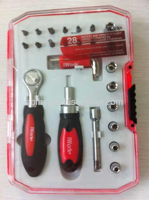iWork 28pcs 1/2 Dr. Socket wrench set