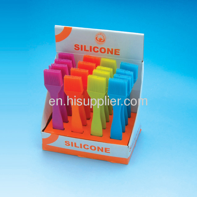 Food grade silicone brushes for BBQ