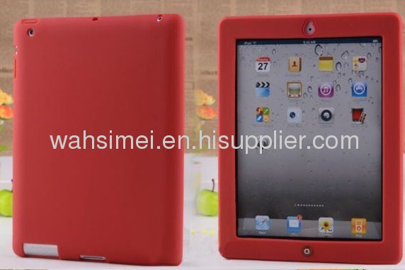 2012 New arrival Colourful Silicon case for ipad 2/3