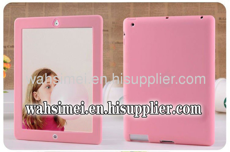 Hot sale Silicone cover for Ipad 2/3