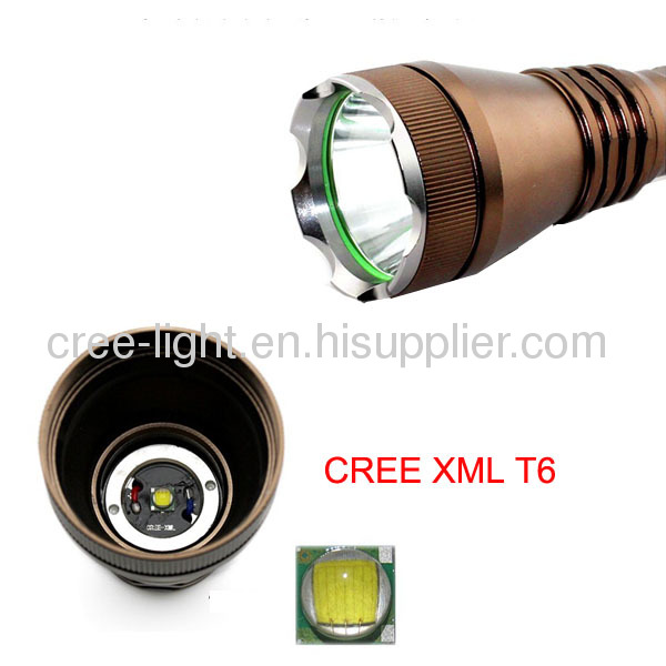 High Power Style Police T6 XML 10W 500lumenACK-1144
