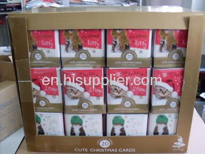 Christmas 20 Cube Cards