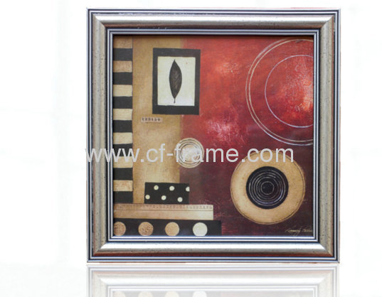 golden PS art frame for home decor