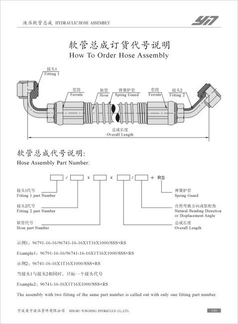 hydraulic hose assembly of engineering machinery hydraulic hose with pipefitings  sc 1 st  Ningbo Yongning Hydraulics Co.Ltd. & hydraulic hose assembly hydraulic hose with pipe fitings from China ...