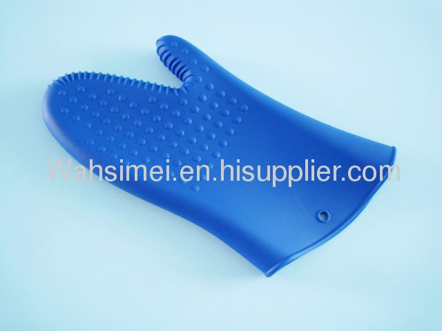 100% Food Grade Silicone oven mitts for kitchen