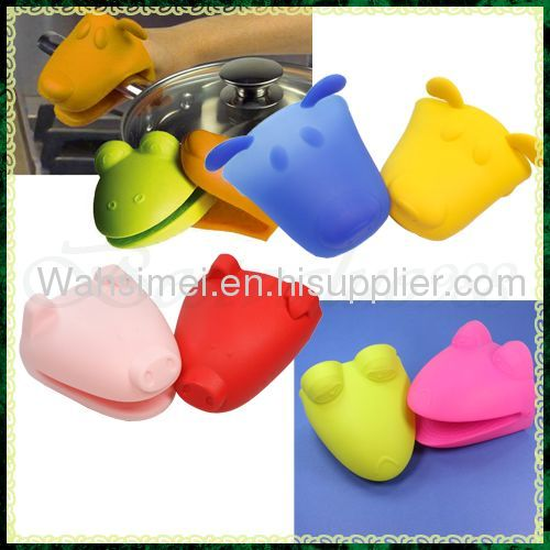 High quality silicone oven mitts for kitchen