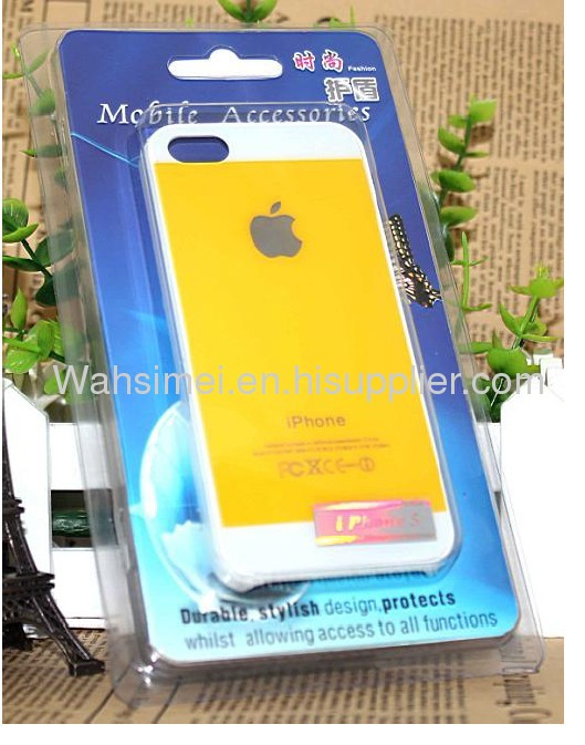 iphone5 large gap in the PC (plastic) Mobile protective shell for iphone 5 case