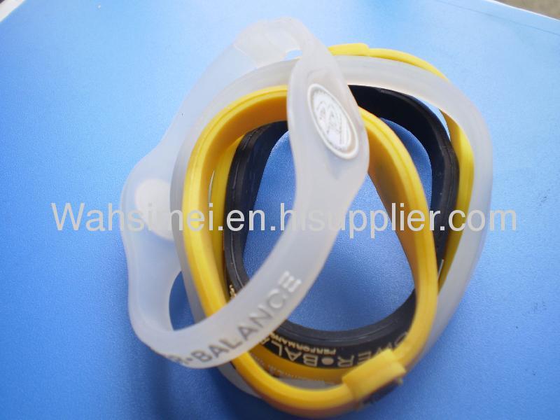 Wholesale splendid silicone power bracelets