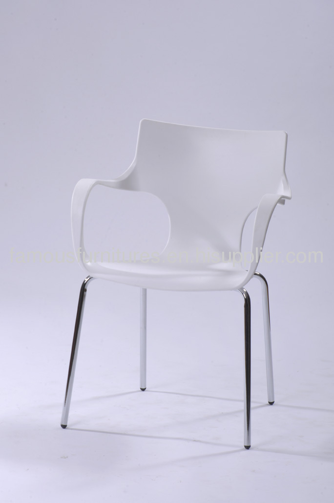PP modern living room chair bar chair reception roomfurniture