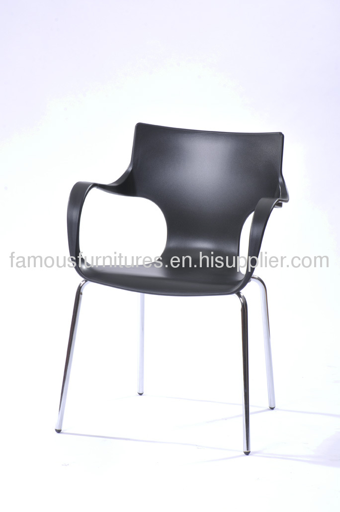 PP modern living room chair bar chair reception room furniture