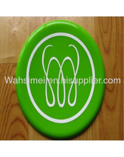 Food grade silicone flying disc for promotional gift