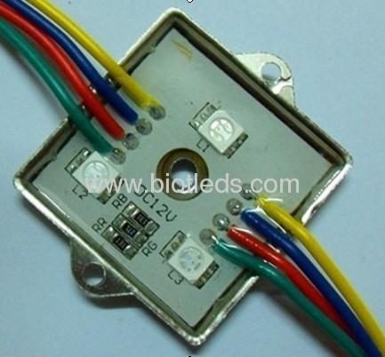 3pcs RGB led module light