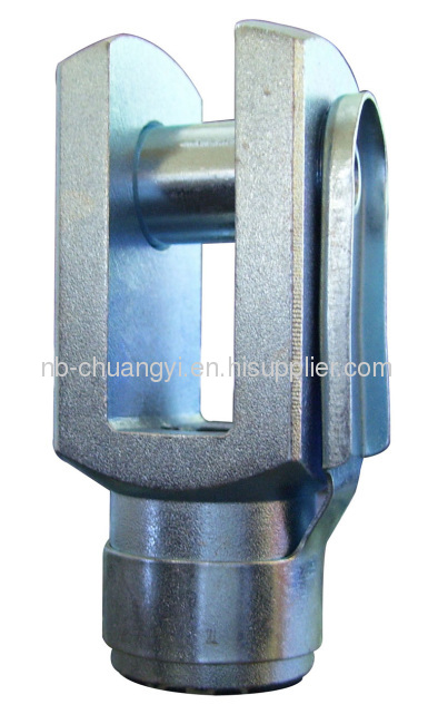 Y fork jointfor ISO 6432 and ISO 15552 standard pneumatic cylinder