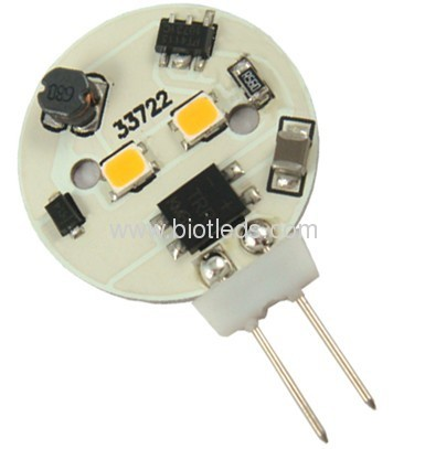 0.8W G4 2SMD led bulb with side pin